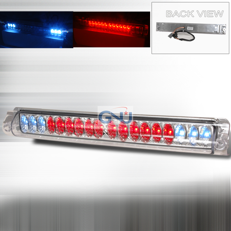 Ford F150 1997-2003 LED 3rd Brake Light - Chrome