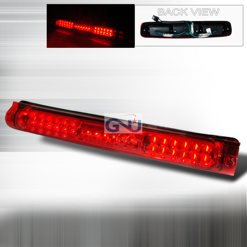 Ford F150 1997-2004 LED 3rd Brake Light - Red