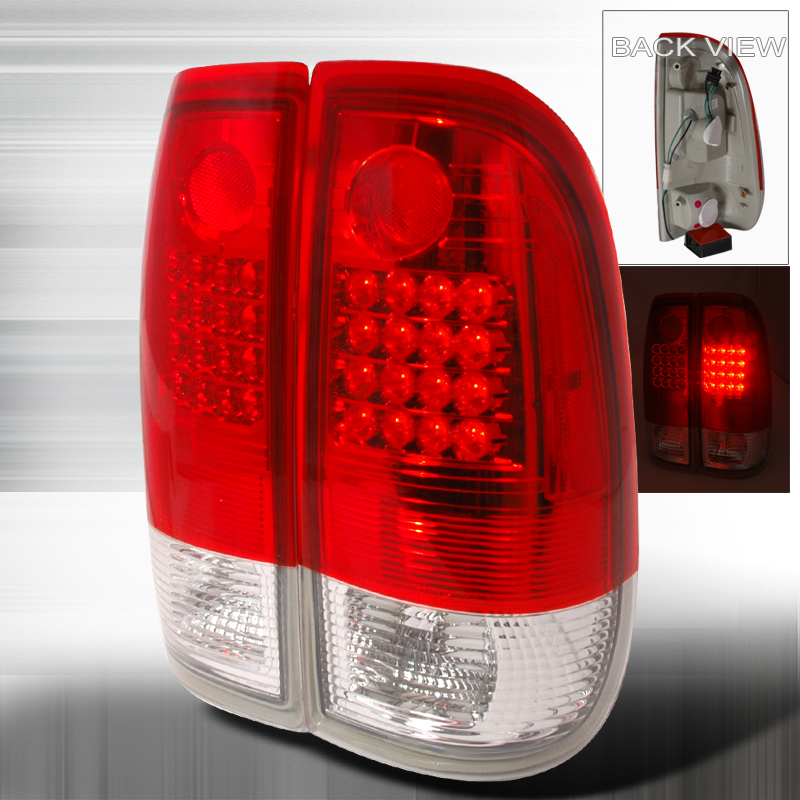 Ford Super Duty  1999-2007 Red LED Tail Lights