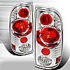 Ford Super Duty  1999-2007 Chrome Euro Tail Lights
