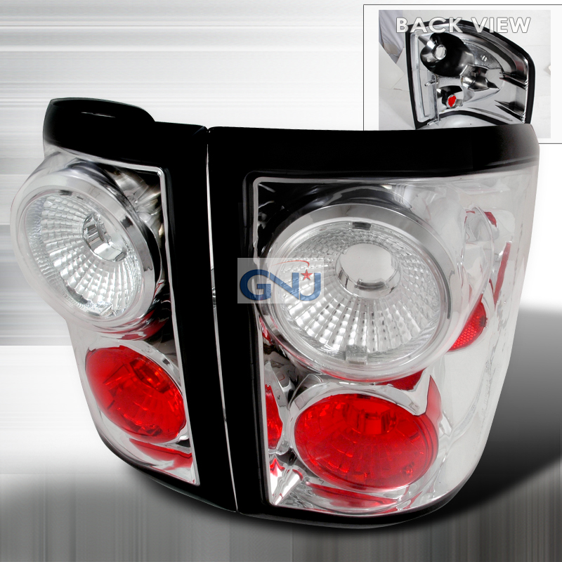 Ford F150  2004-2007 Chrome Euro Tail Lights