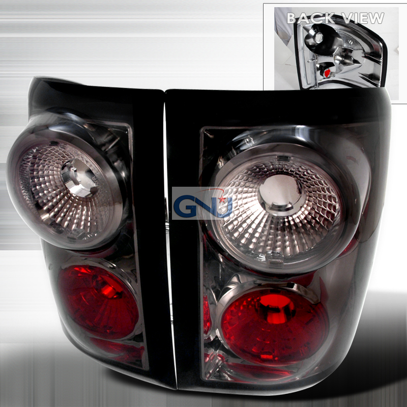 Ford F150  2004-2007 Smoke Euro Tail Lights