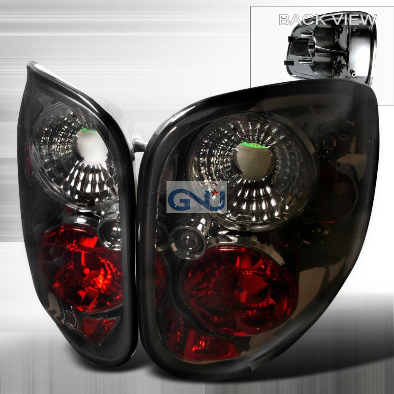 Ford F150  1997-2000 Smoke Euro Tail Lights