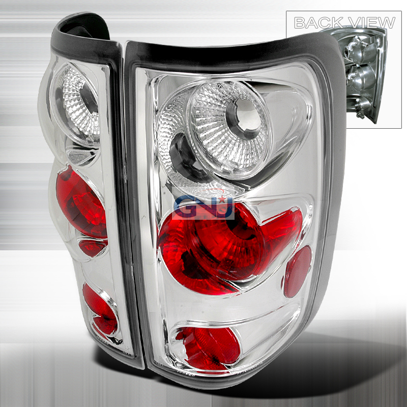 Ford F150  2004-2006 Chrome Euro Tail Lights