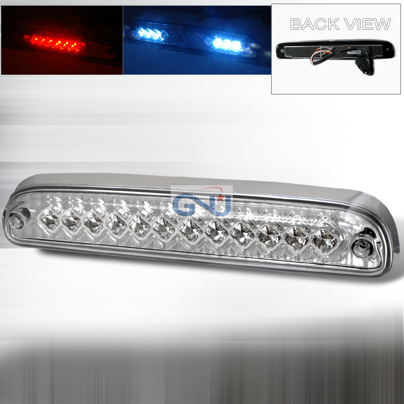 Ford Super Duty 1999-2008 LED 3rd Brake Light - Chrome