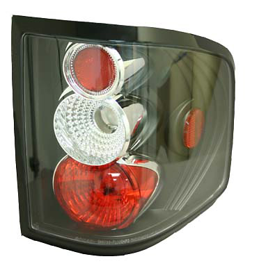 Ford F-150 04-05 Flare Side Black Euro Tail Lights