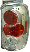 1997 Ford Explorer  Chrome Euro Tail Lights