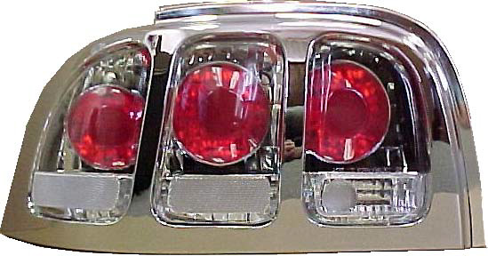 Ford Mustang 94-98 Altezza Style Euro Clear Tail Lights