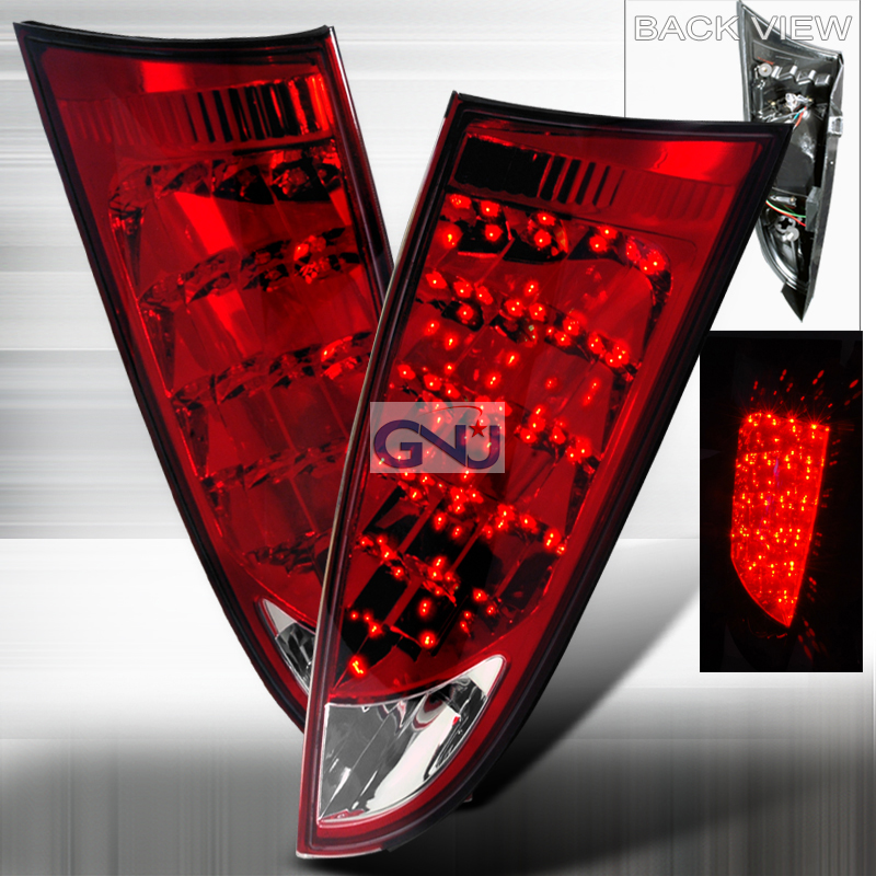 Ford Focus  2000-2007 Red LED Tail Lights