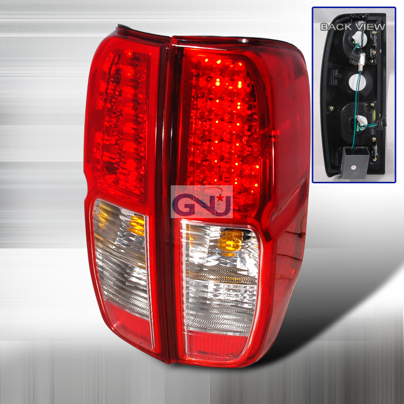 Nissan Frontier  2005-2012 Red LED Tail Lights
