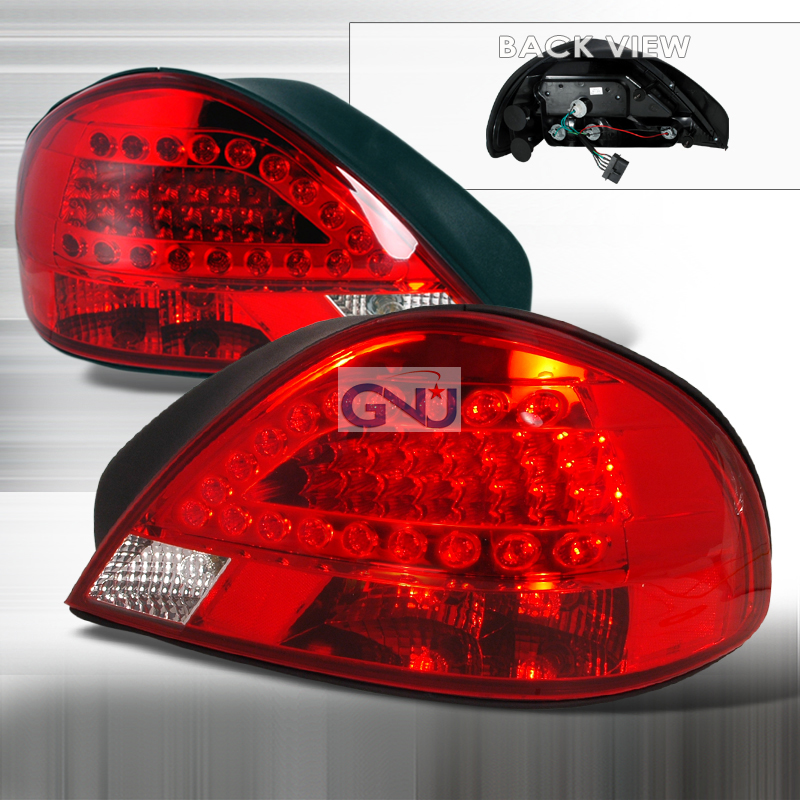Pontiac Grand Am  1999-2005 Red LED Tail Lights