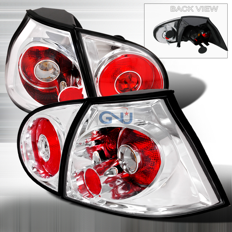 Volkswagen Golf  2006-2008 Chrome Euro Tail Lights