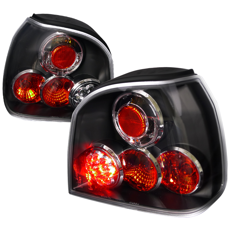 Volkswagen Golf  1993-1998 Black LED Tail Lights