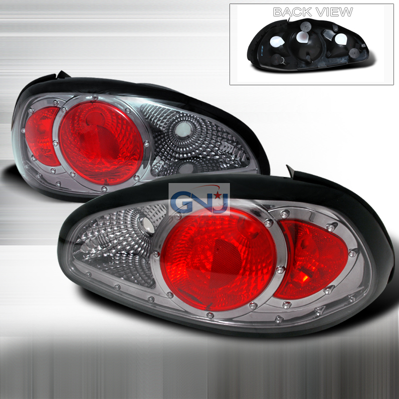 Pontiac Grand Prix  1997-2003 Smoke Euro Tail Lights