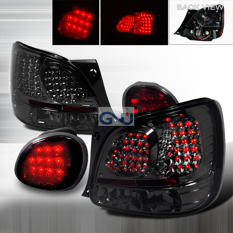 Lexus GS300  1998-2005 Smoke LED Tail Lights