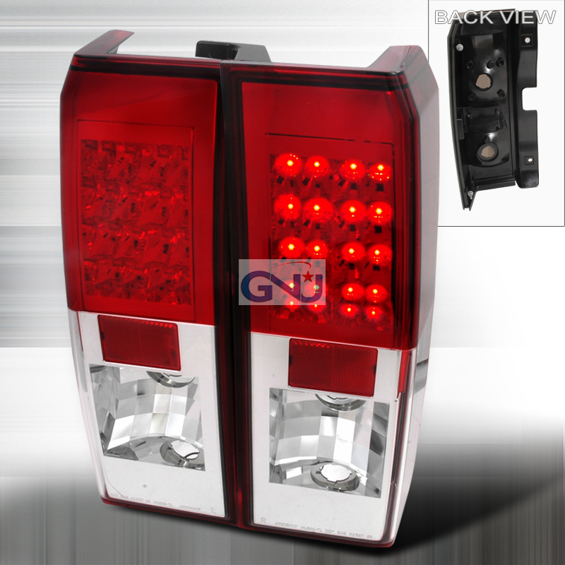 Hummer H3 2006-2007 LED Tail Lights -  Red
