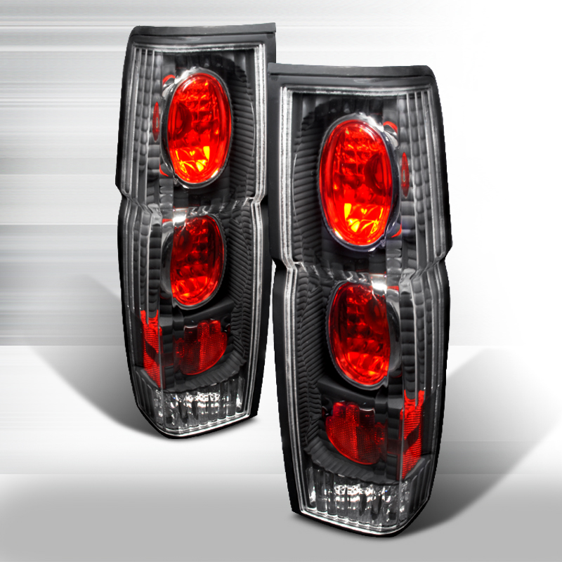 Nissan Nissan Pickup  1986-1997 Black Euro Tail Lights
