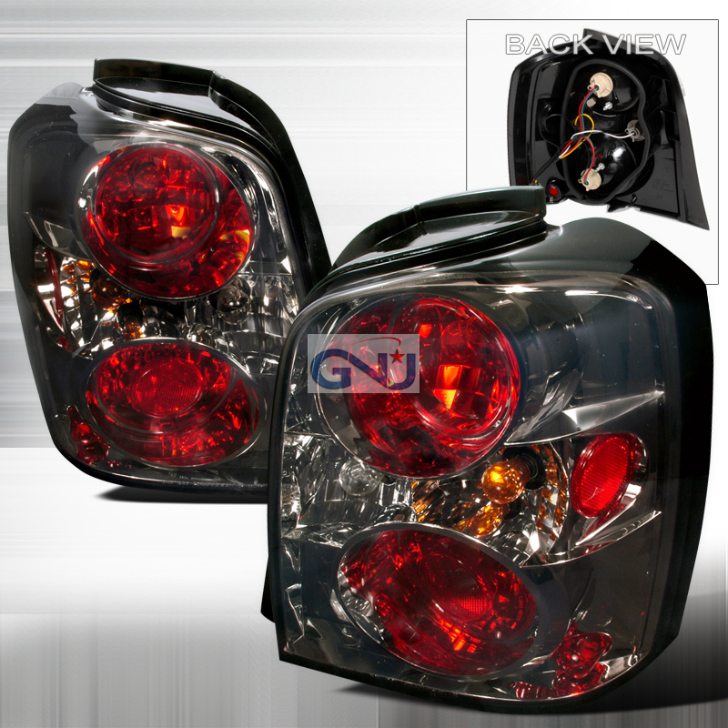 Toyota Highlander  2004-2007 Smoke Euro Tail Lights