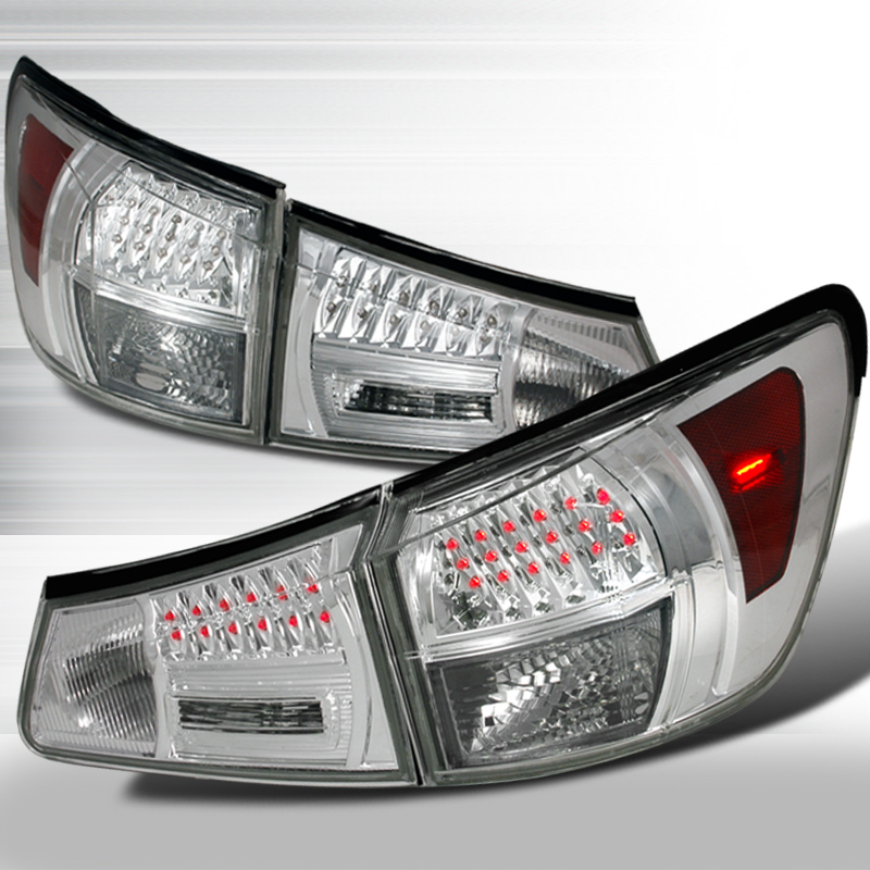 Lexus IS350  2006-2008 Chrome LED Tail Lights