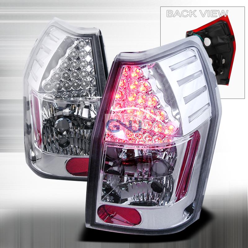 Dodge Magnum  2005-2008 Chrome LED Tail Lights