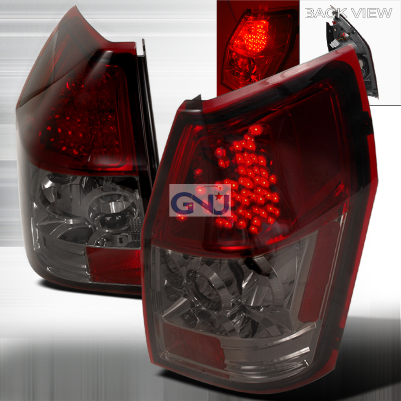 Dodge Magnum  2005-2008 Smoke LED Tail Lights