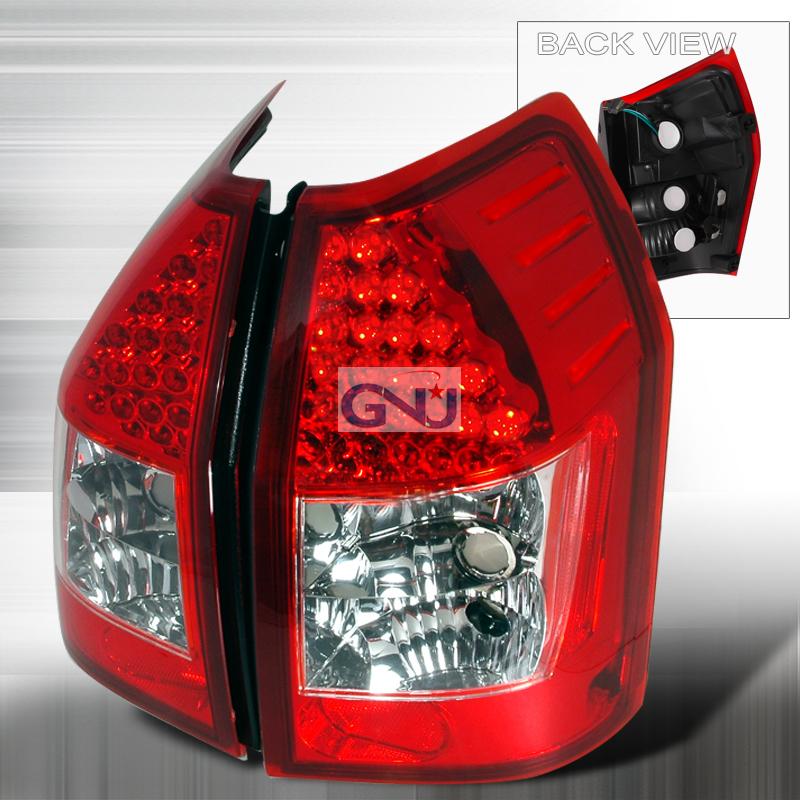 Dodge Magnum  2005-2008 Red LED Tail Lights