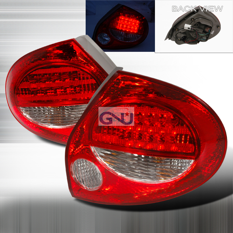 Nissan Maxima  2000-2001 Red LED Tail Lights