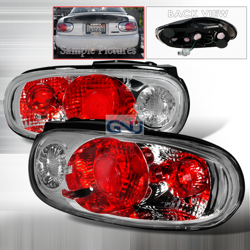 Mazda Miata  1990-1997 Chrome Euro Tail Lights