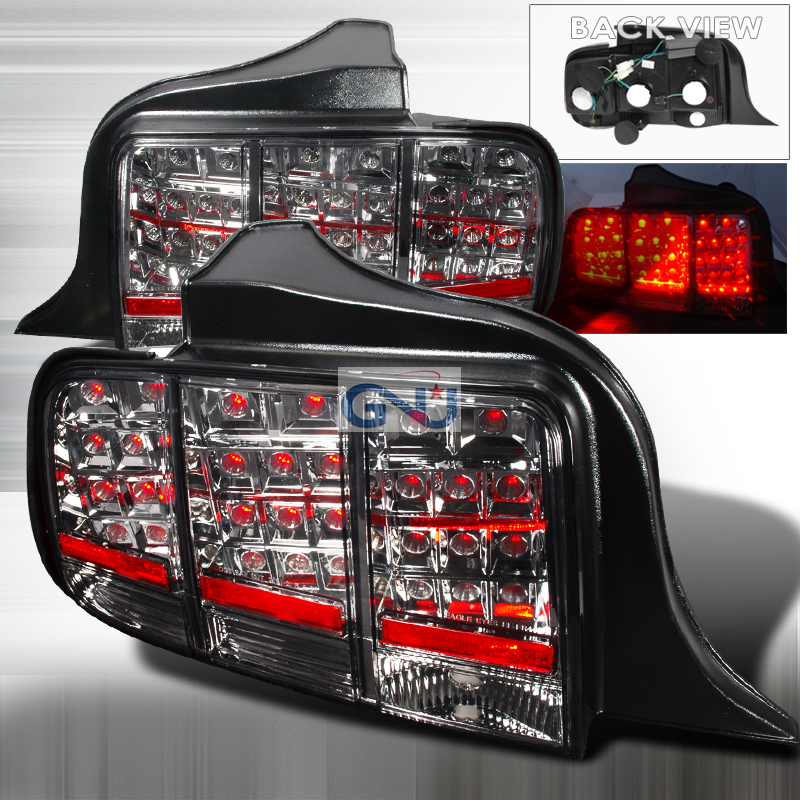 Ford Mustang  2005-2009 Smoke LED Tail Lights