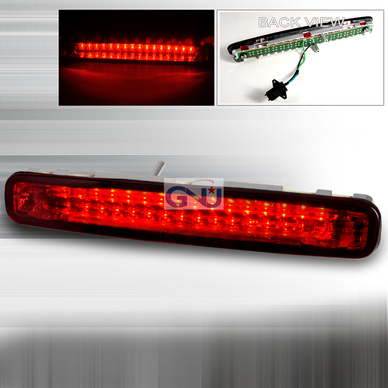 Ford Mustang 2005-2009 LED 3rd Brake Light - Chrome