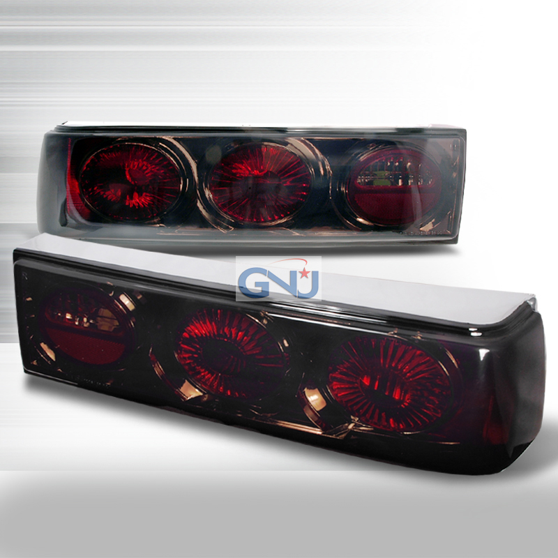 Ford Mustang  1987-1993 Smoke Euro Tail Lights