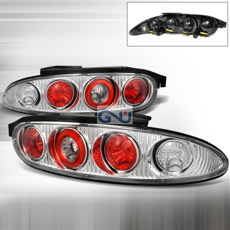 Mazda Mx3  1992-1995 Chrome Euro Tail Lights