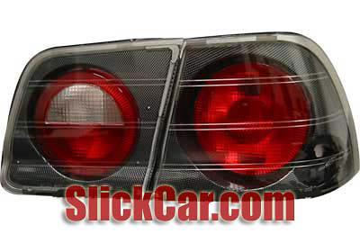 Nissan Maxima 95-96 Carbon Fiber Euro Tail Lights