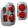 2000  Nissan Pathfinder Euro Tail Lights Clear