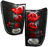 Nissan Titan 2004-2006 Euro Tail Lights (Black)
