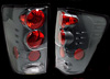 Nissan Titan 2004-2006 Euro Tail Lights Carbon Fiber