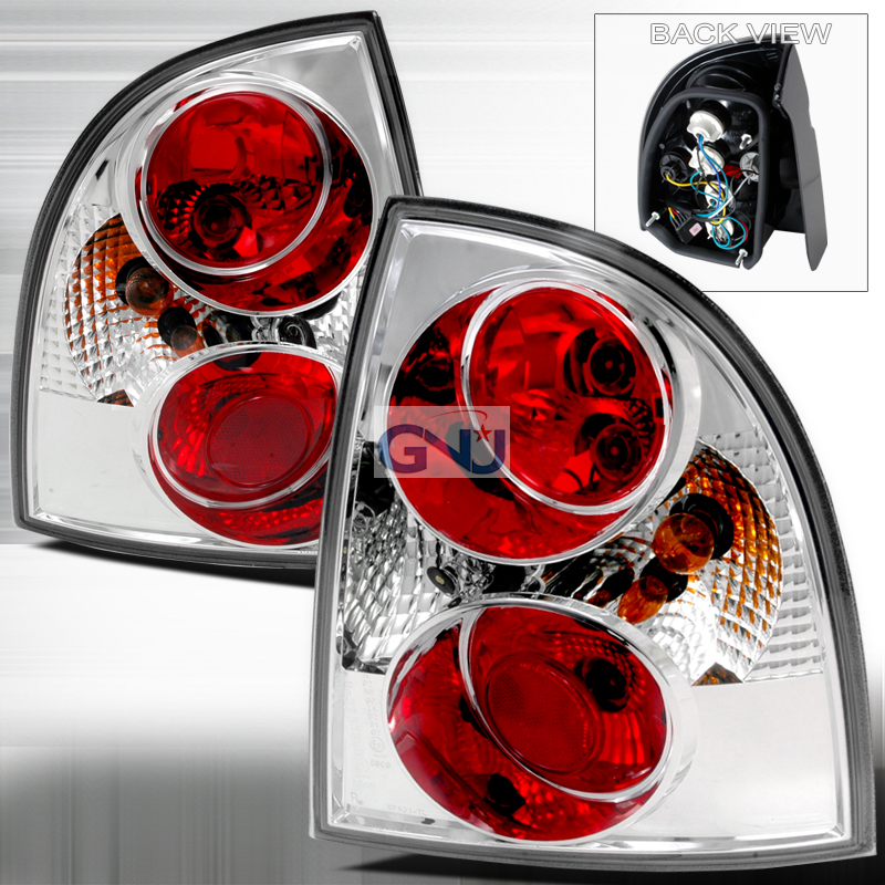 Volkswagen Passat  2001-2005 Chrome Euro Tail Lights
