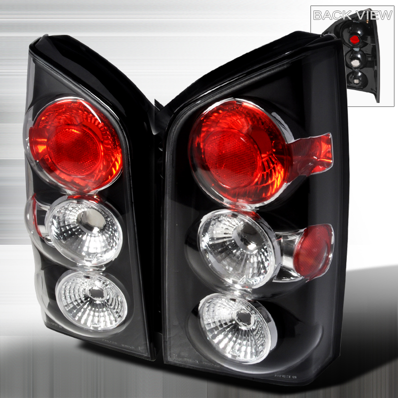 Nissan Pathfinder  2005-2012 Black Euro Tail Lights