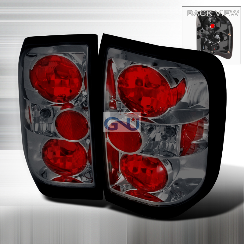 Nissan Pathfinder  1996-2004 Smoke Euro Tail Lights