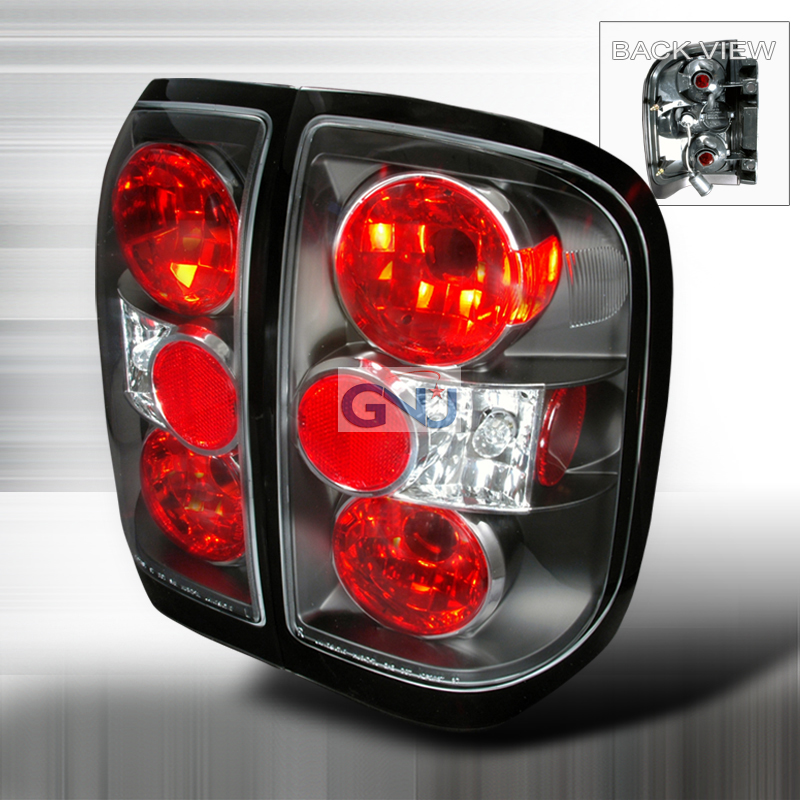 Nissan Pathfinder  1996-1998 Black Euro Tail Lights