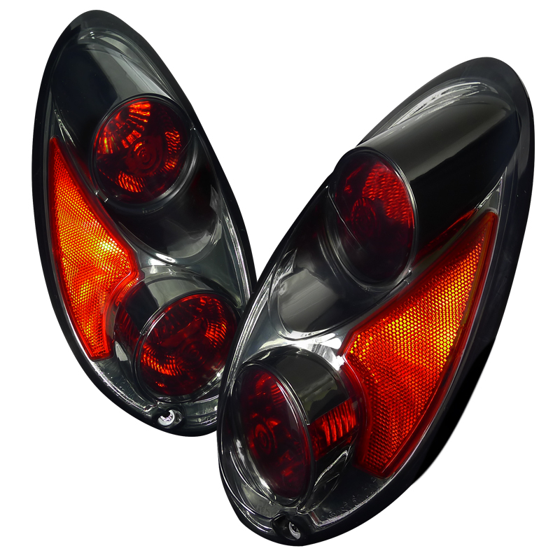 Chrysler PT Cruiser  2001-2005 Smoke Euro Tail Lights