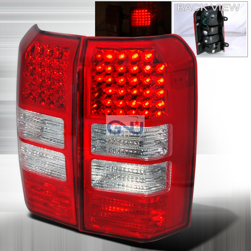Jeep Patriot  2007-2011 Red LED Tail Lights