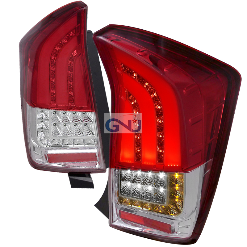 Toyota Prius  2010-2012 Red LED Tail Lights