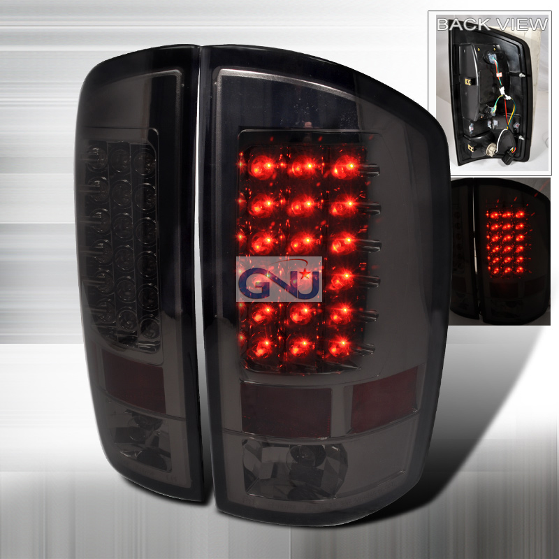 Dodge Ram  2002-2006 Smoke LED Tail Lights