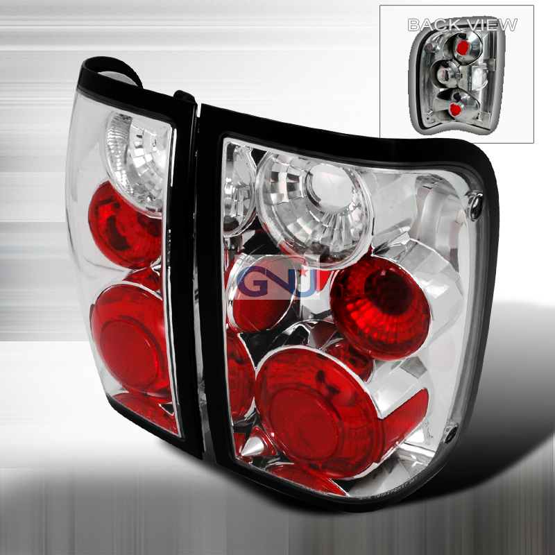 Ford Ranger  1993-1997 Chrome Euro Tail Lights