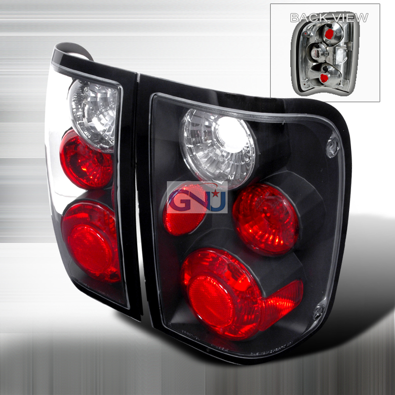 Ford Ranger  1993-1997 Black Euro Tail Lights