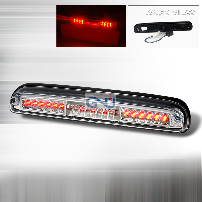 Ford Ranger 1993-1997 LED 3rd Brake Light - Chrome