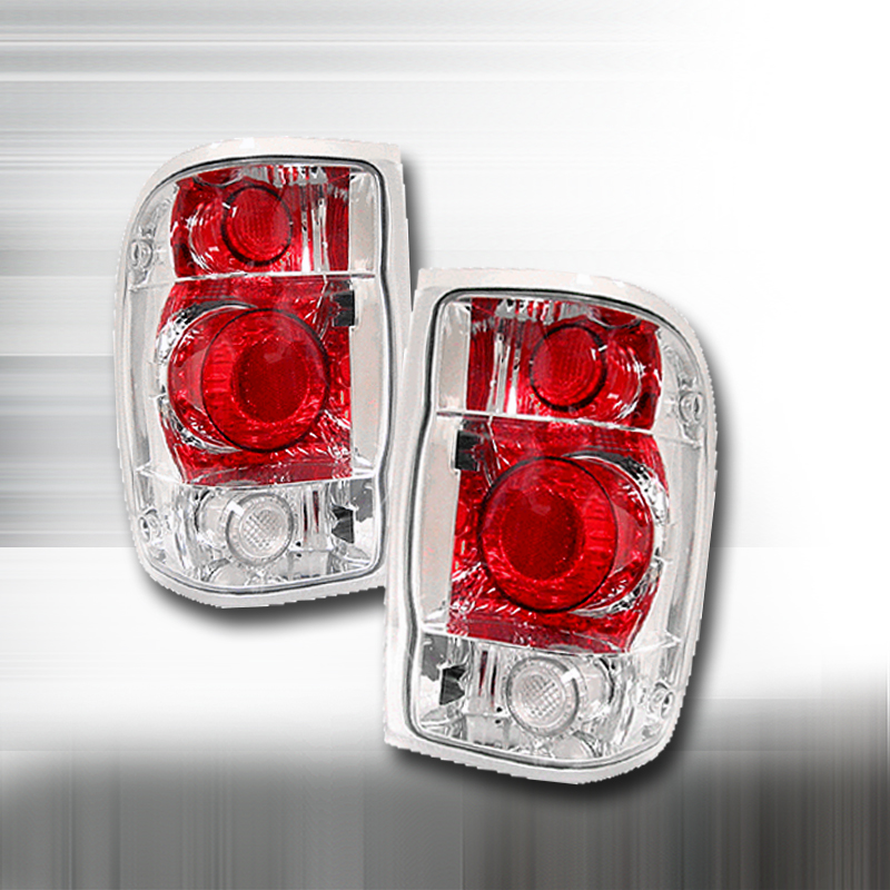 Ford Ranger  1998-2001 Chrome Euro Tail Lights