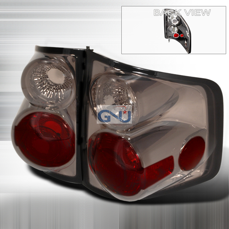 Chevrolet S10 Pickup  1994-2001 Smoke Euro Tail Lights