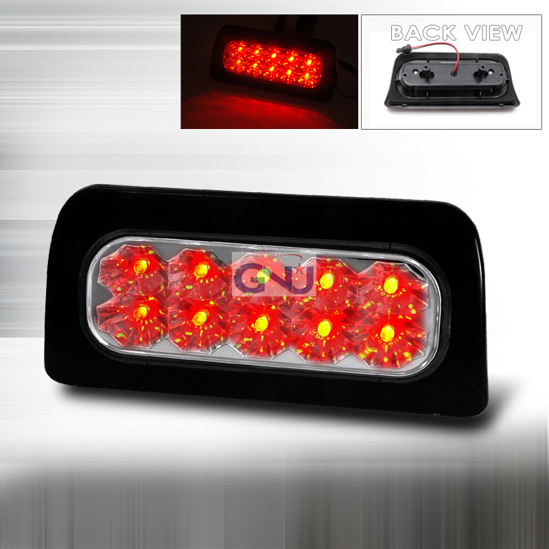 Chevrolet S10 Pickup 1998-2004 LED 3rd Brake Light - Chrome